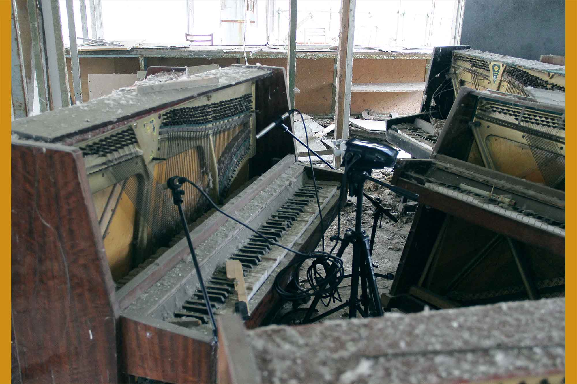 PRIPYAT Pianos – Radioactive Pianos from the Chernobyl